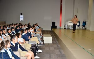 Uzm.Dr. Senem TURAN - Antalya Kolejinde Öğrencilere Ergenlik Semineri 6
