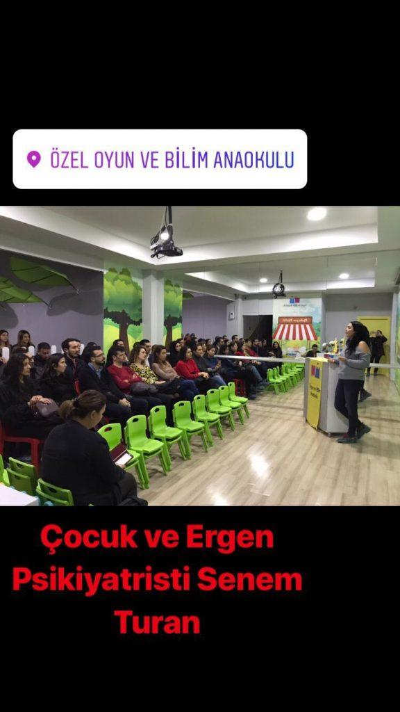 Uzm.Dr. Senem TURAN – Özel Oyun Ve Bilim Anaokulu'nda - Aralık 2018 6